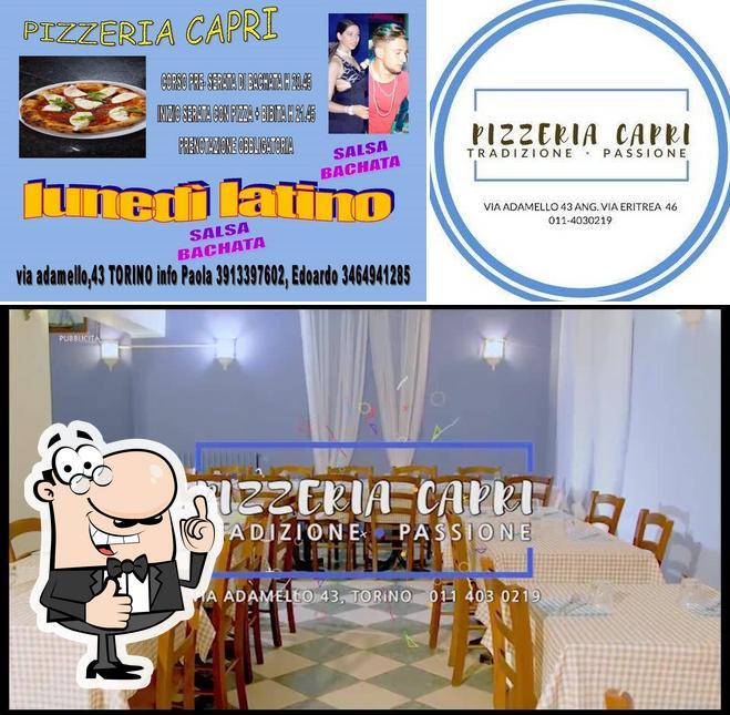 Ecco una foto di Ristorante Pizzeria Capri