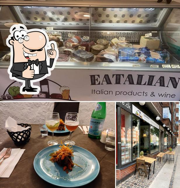 See the pic of Eatalian