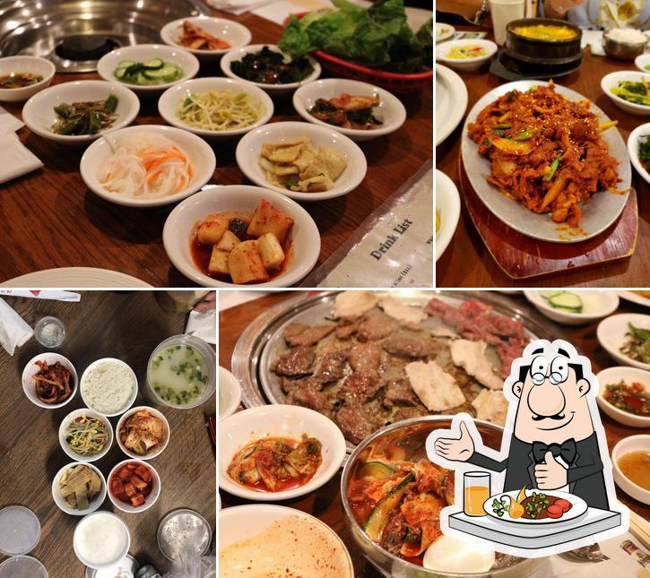 Food at Seocho Garden