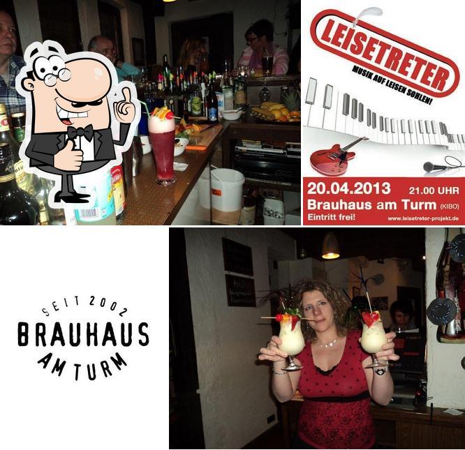 """Это фотография паба и бара """"Brauhaus am Turm"""""""