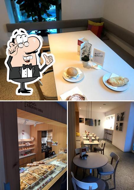 L'intérieur de Bäckerei Köhle
