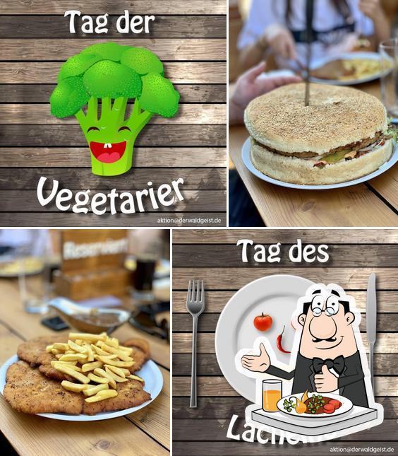 Gerichte im XXL Restaurant Waldgeist Hofheim am Taunus