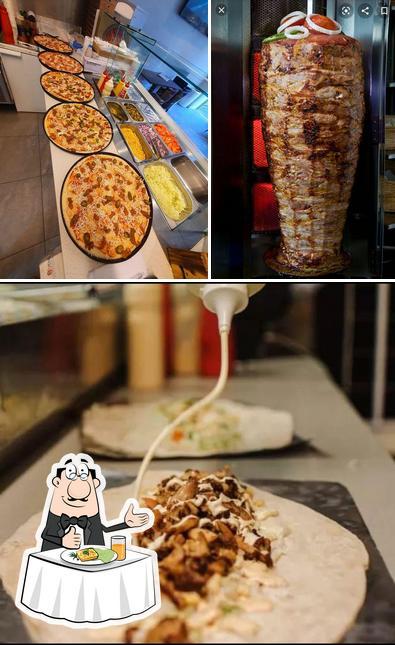 Food at Bergen Kebab