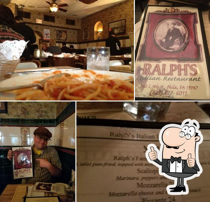 Here's a picture of Ralph's Italian
