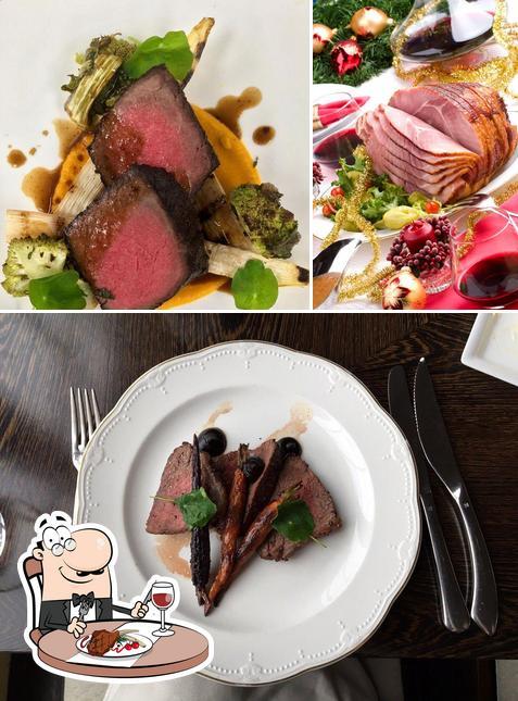 Get meat meals at XIX (Nineteen) Restaurant