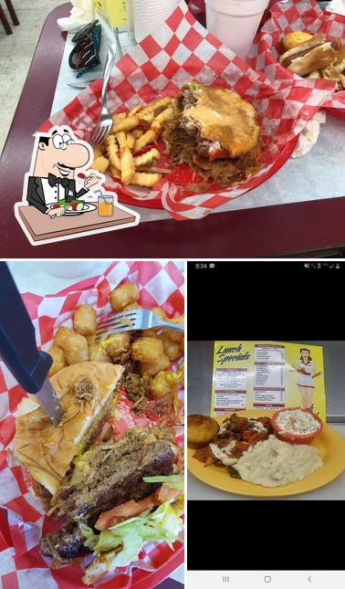 Food at Chubby's Deli
