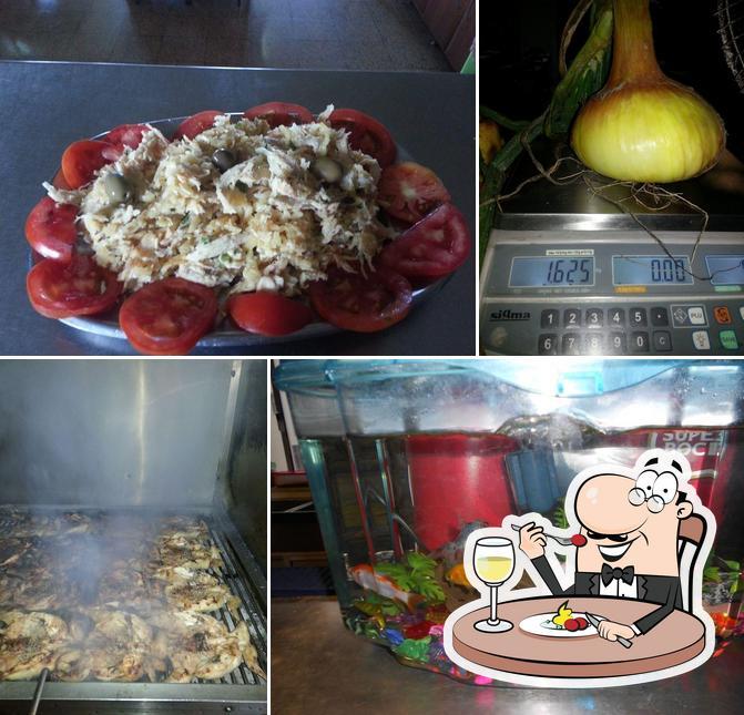 Comida em Churrasqueira Nova Grelha
