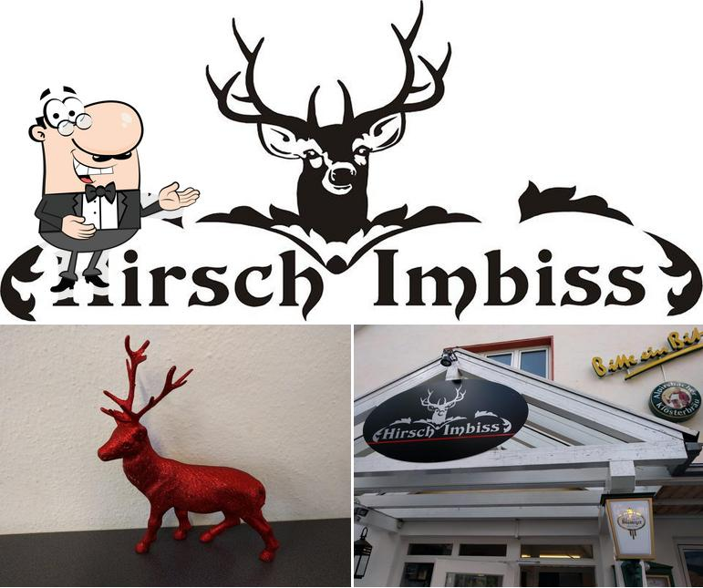 Look at the picture of Hirsch Imbiss