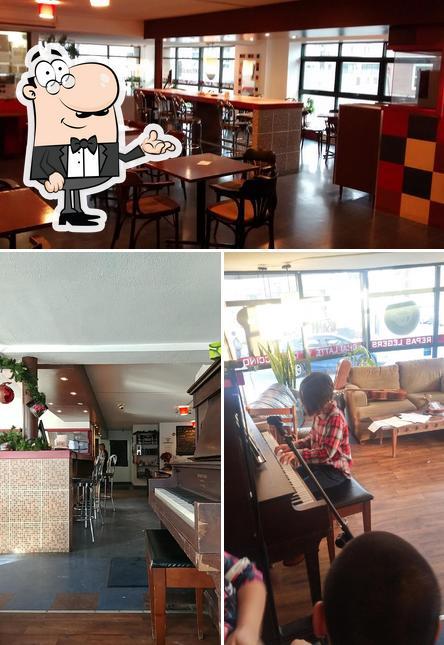 L'intérieur de Café La Mosaique