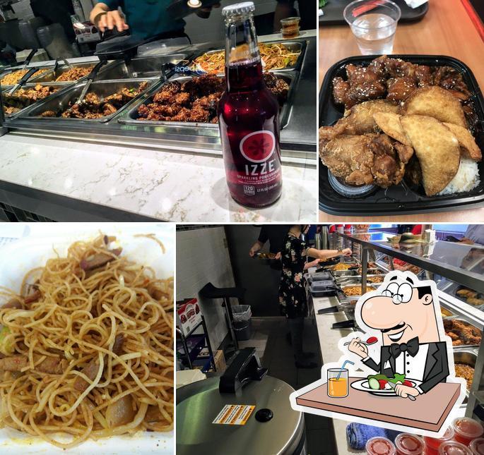 Food at Skyway Wok