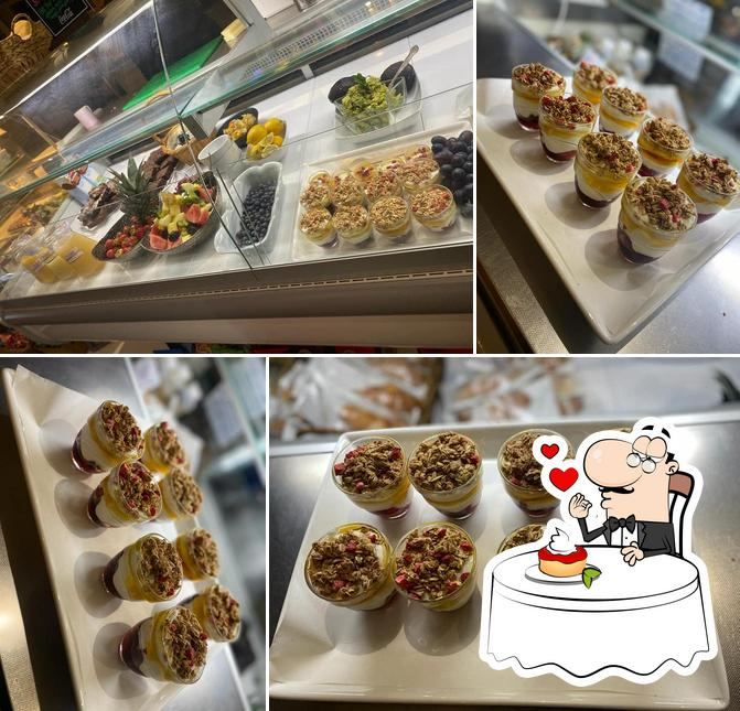 Nibbles offers a selection of desserts