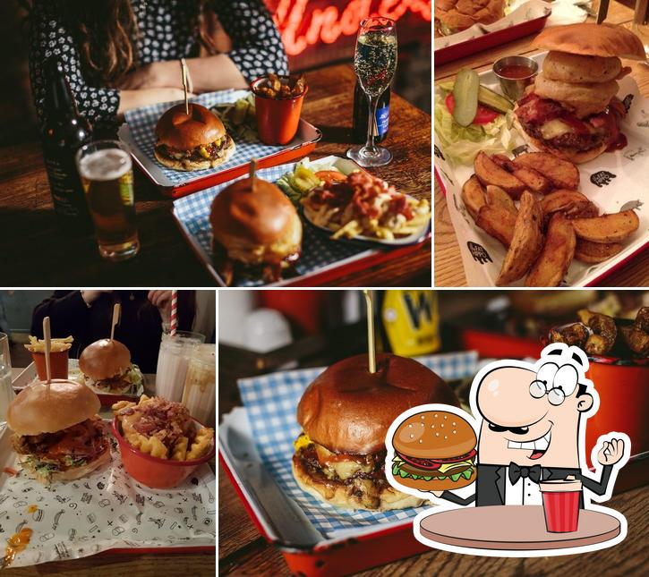 Try out a burger at Fat Hippo