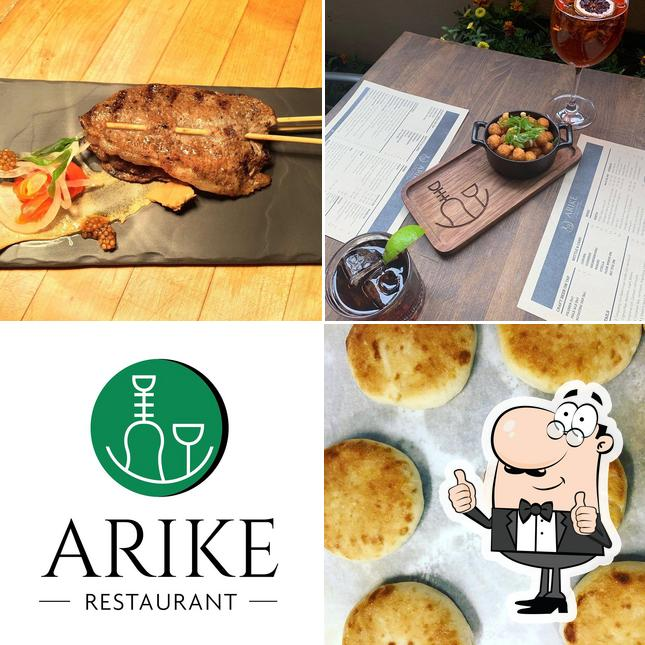 Here's a picture of Arike Restaurant