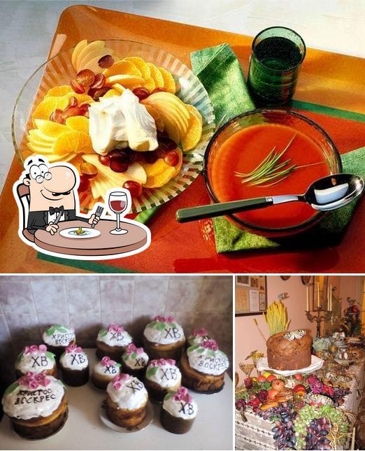 The photo of Кейтеринг Фуршет Feast-day Киев's food and exterior