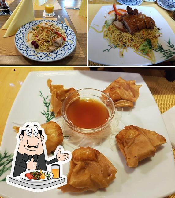 """Блюда в """"Hirsch Asia"""""""