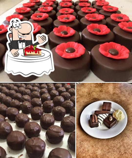 Sweet Decadence provides a range of sweet dishes