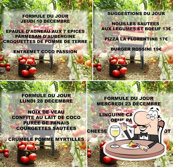 Nourriture à Restaurant Pizzéria La Storia