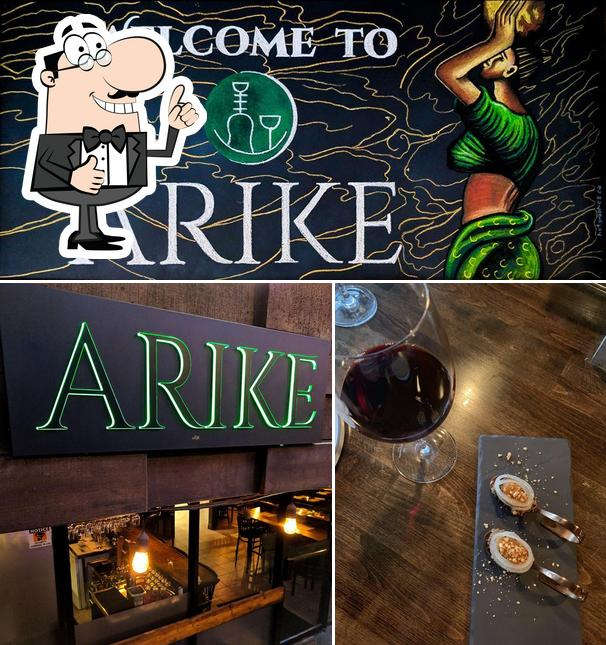Look at the image of Arike Restaurant