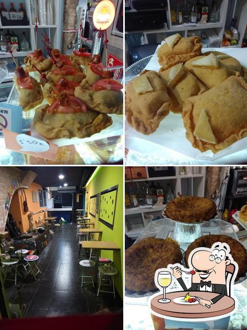 Comida en Txaranga Cafe Teatre