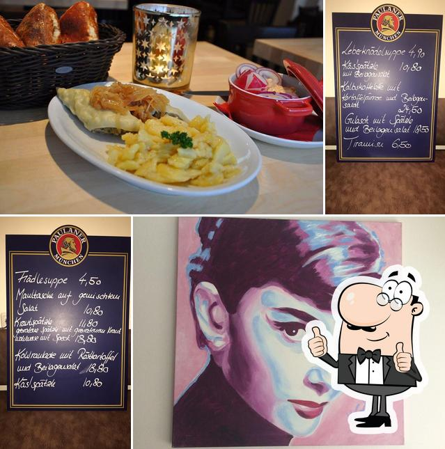 Look at the photo of Paula's Wirtshaus