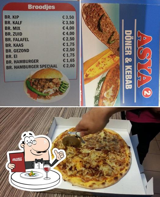 Food at Asya Doner & kebab 2