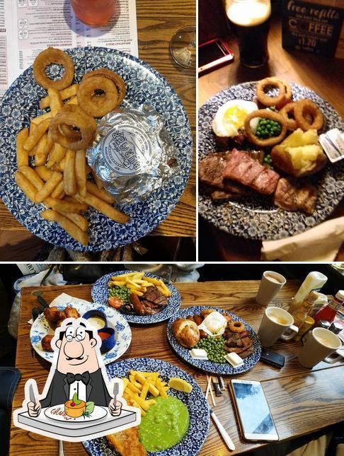 Food at The Iron Duke