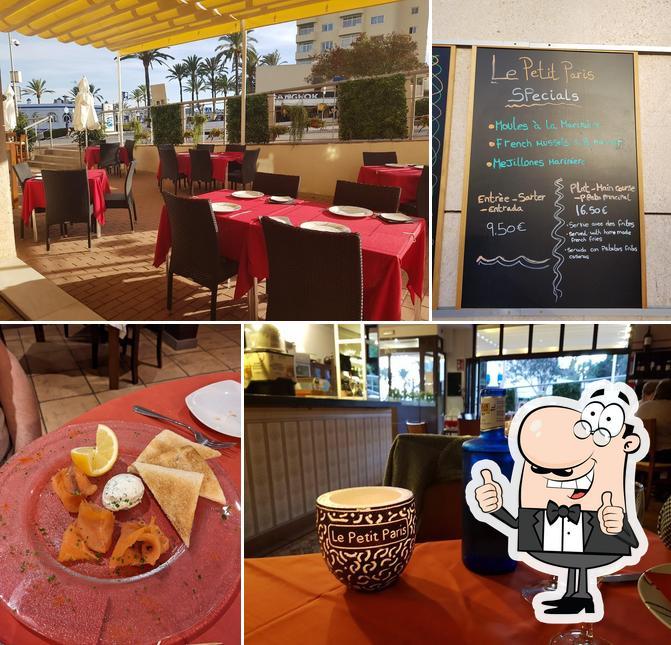 "Взгляните на снимок ресторана ""Le Petit Paris"""