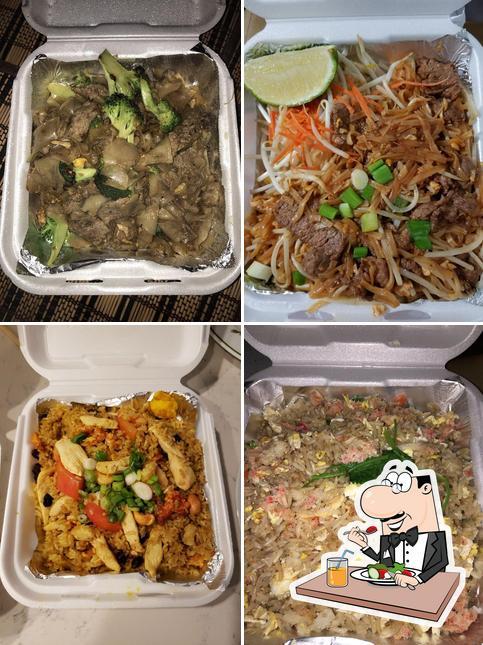 Food at Thai Express