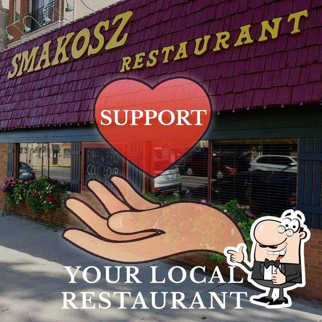 Here's an image of Smakosz Restaurant