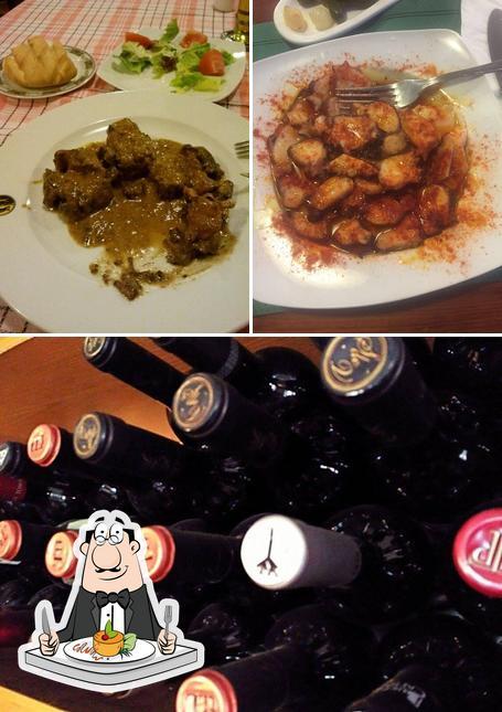 Las imágenes de comida y alcohol en Chaval de Lorenzo