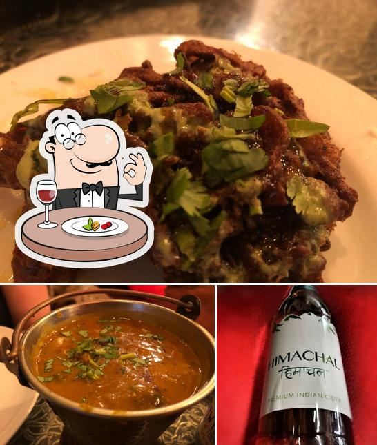 The image of Atithi's food and alcohol