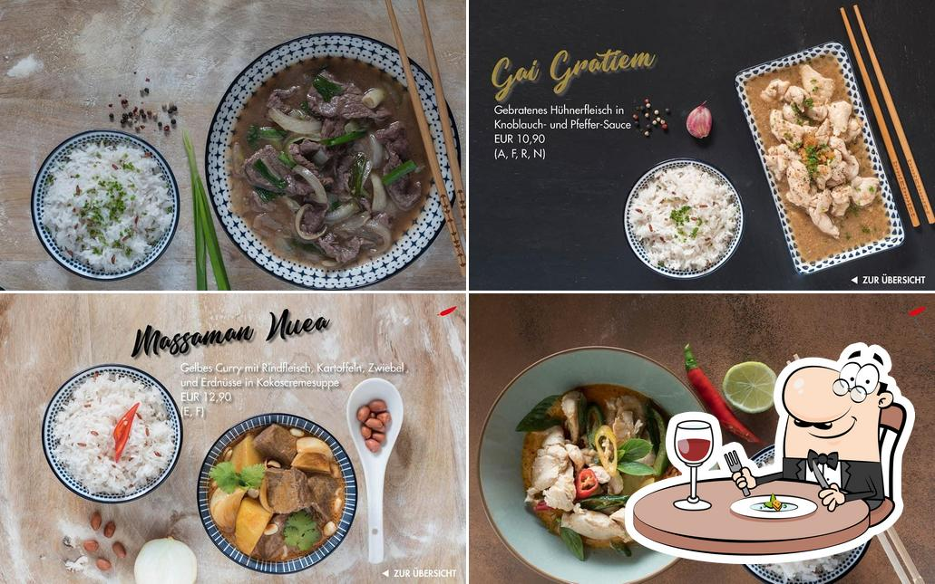 Essen im Imm-D Thai to go & Restaurant