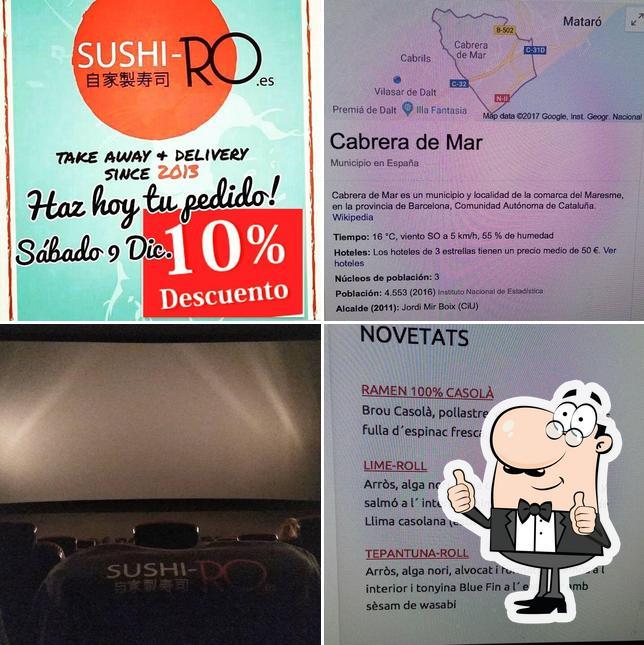 Aquí tienes una foto de SUSHI-RO