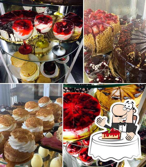 """""""La Caffé"""" предлагает большое количество сладких блюд"""