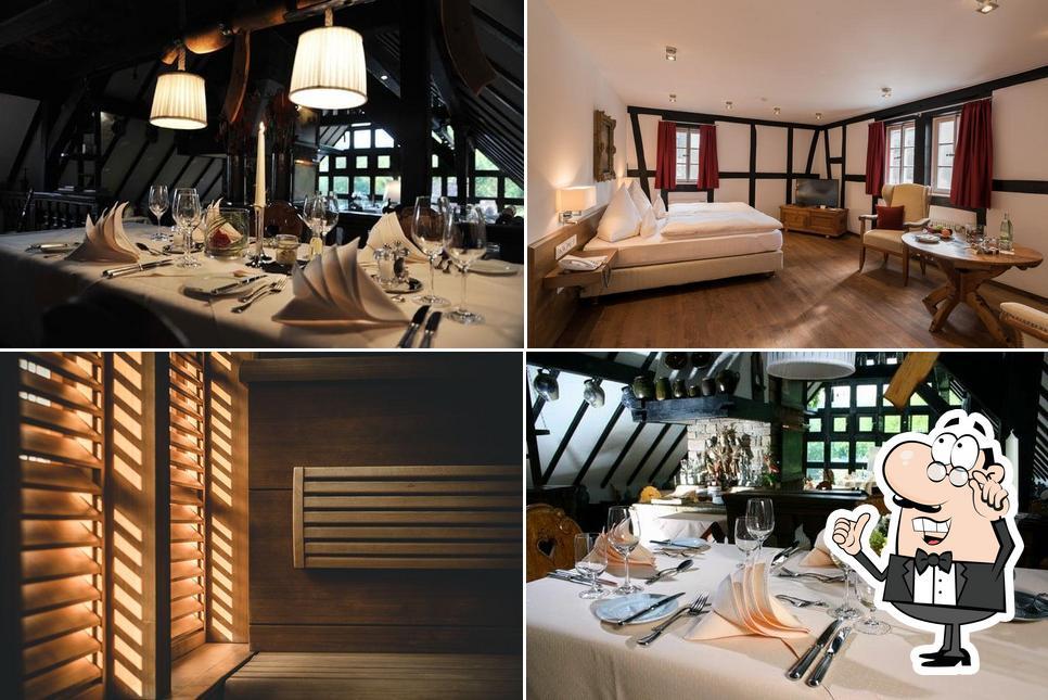 El interior de Neumühle Resort & SPA