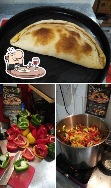 Plats à Pronto Pizza Valé