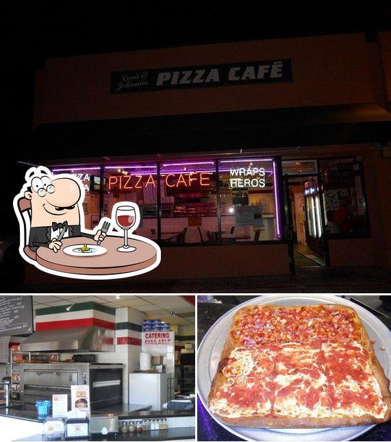 Comida en The Pizza Cafe