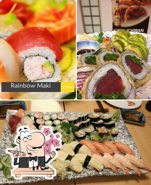 Order different sushi options