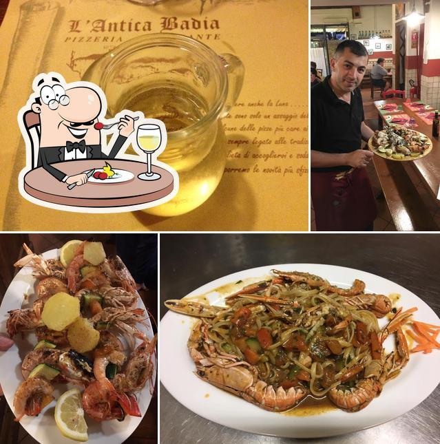 Food at L'Antica Badia