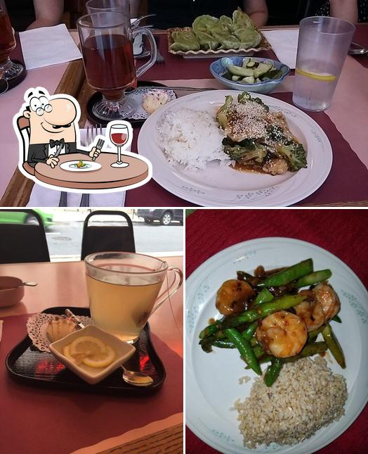 Food at Ray's Cafe & Tea House
