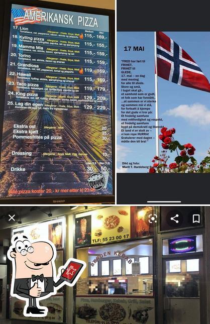 Look at this image of Bergen Kebab