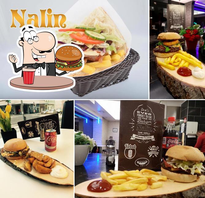 Order a burger at Nalin Kebab