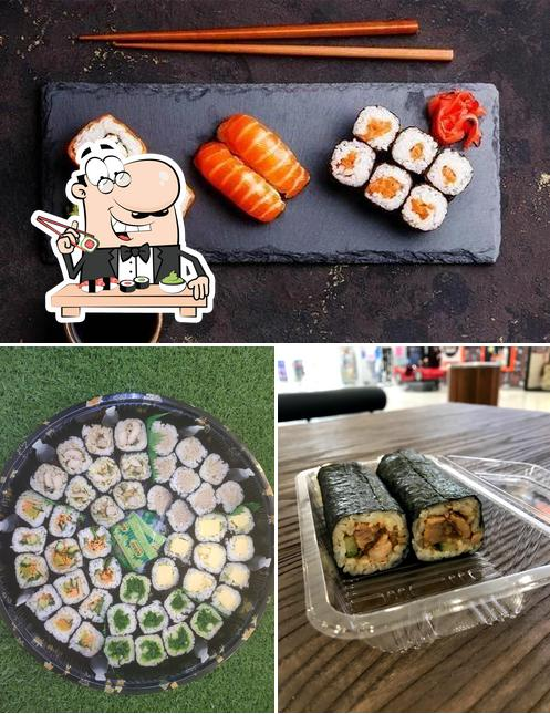 Отведайте различные виды суши