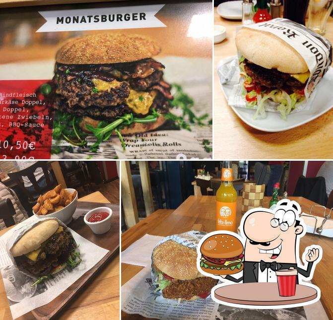 Prenez un hamburger à Mahlzeit