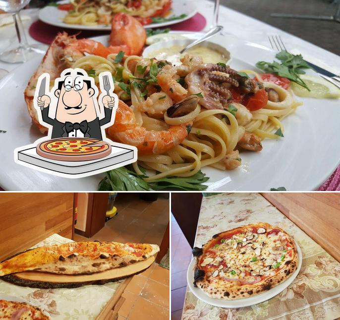 Try out various kinds of pizza
