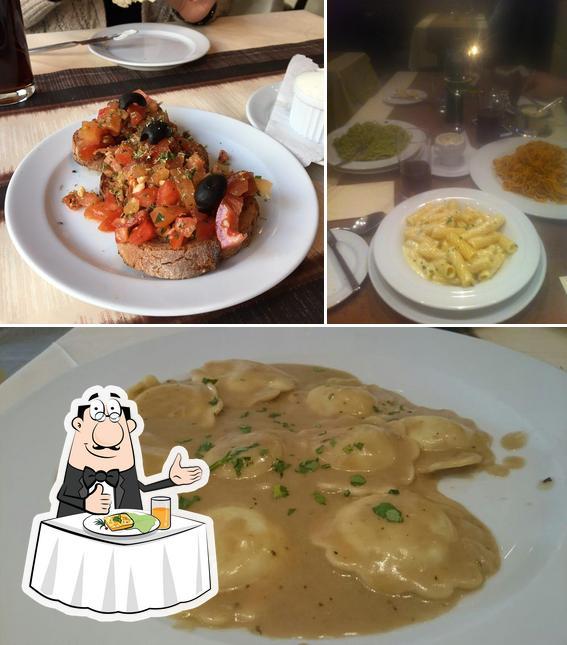 Food at La Brisella