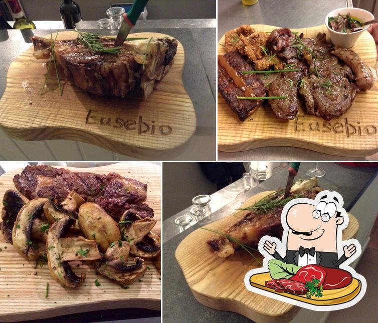 Scegli i un pasto a base di carne a Eusebio restaurant