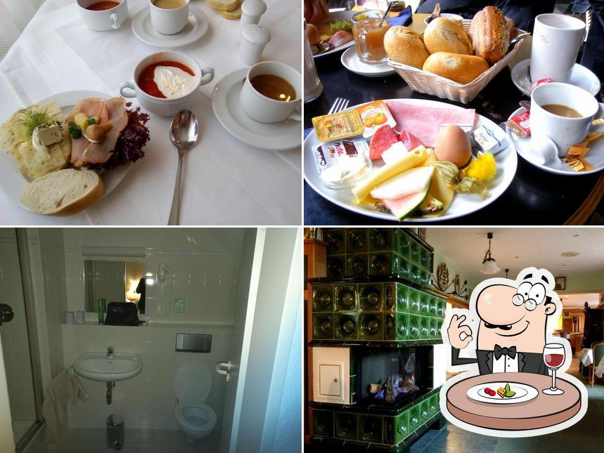 Hotel Pesterwitzer Siegel wird durch lebensmittel und innere unterschieden
