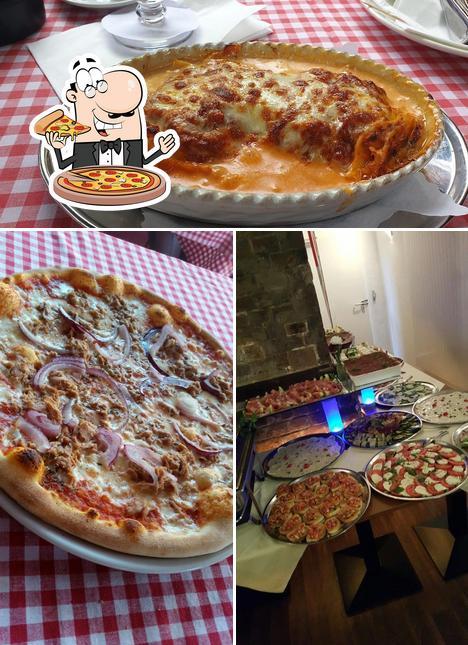 Kostet eine Pizza bei Casa Vicina