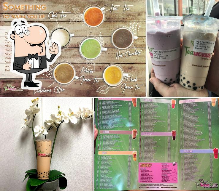 See the pic of TeaLicious Cafe